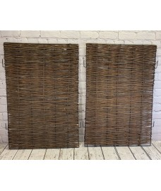 Pair of Side Panels for Triple Wheelie Bin Screen
